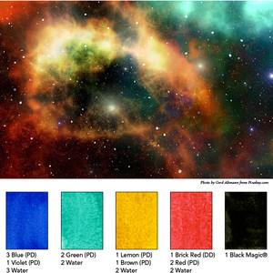 Higgins Mixing Palette 12