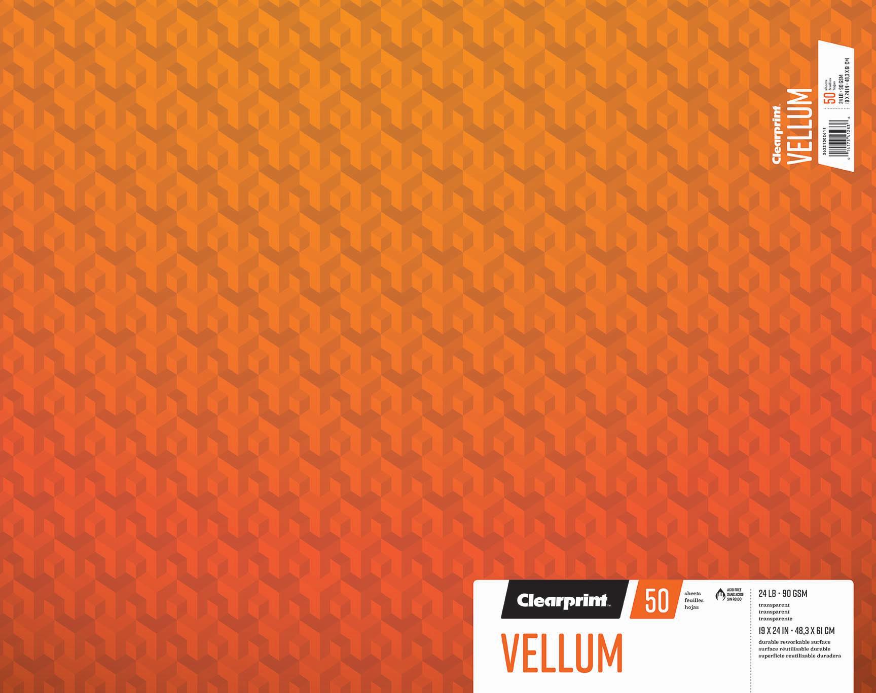 """Vellum 19""""x24"""""""