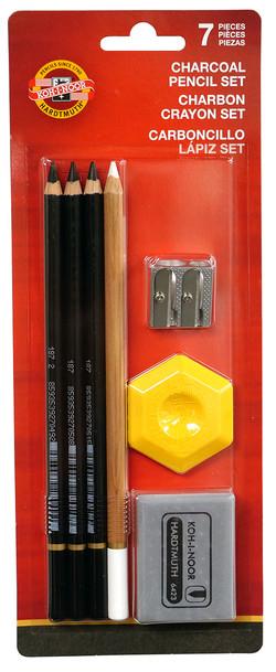 Charcoal Drawing Set