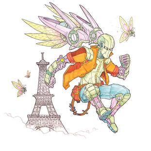 234 Paris Paper for Pens by Brett Kelley