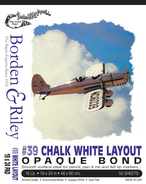 9x12 #39 Chalk White Bond Pad
