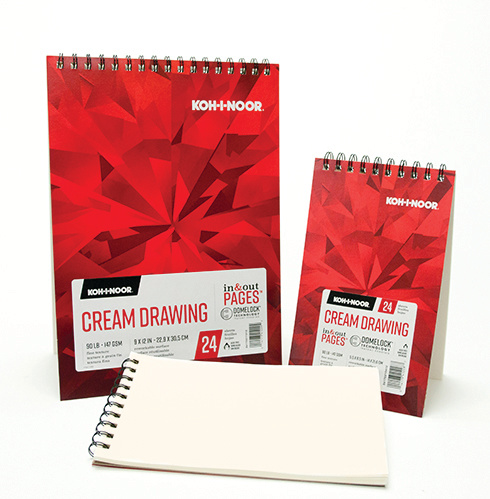 Cream Drawing Paper