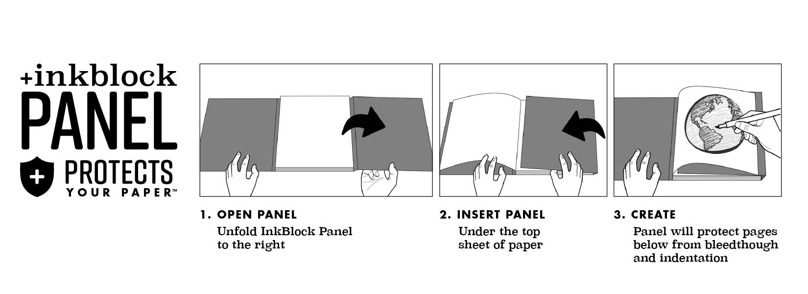 Ink Block Panel