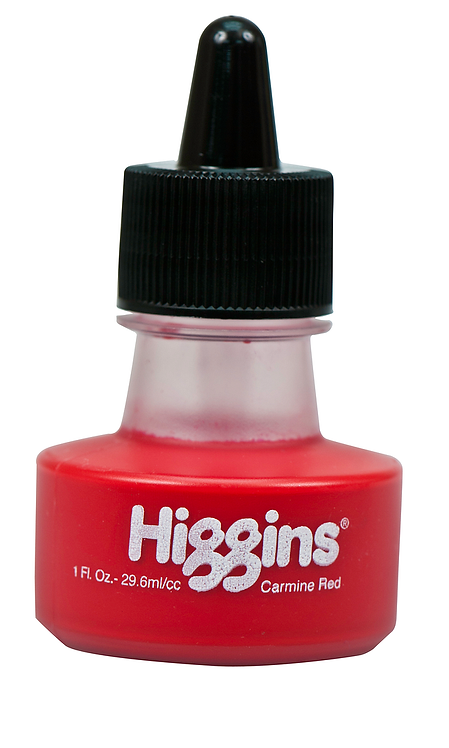 Carmine Red Dye-based Ink