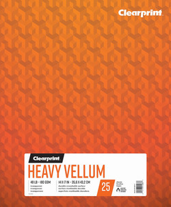 "Heavy Vellum 14""x17"""