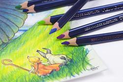 Triocolor Colored Pencils