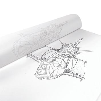 Tracing Paper Series by Brett Kelley