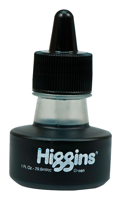 Green Pigmented Ink