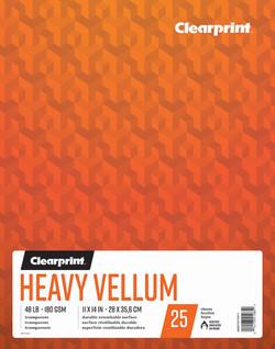 "Heavy Vellum 11""x14"""