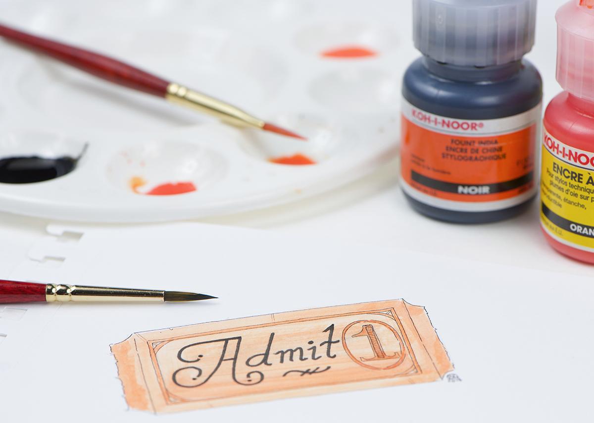 Fount India Ink