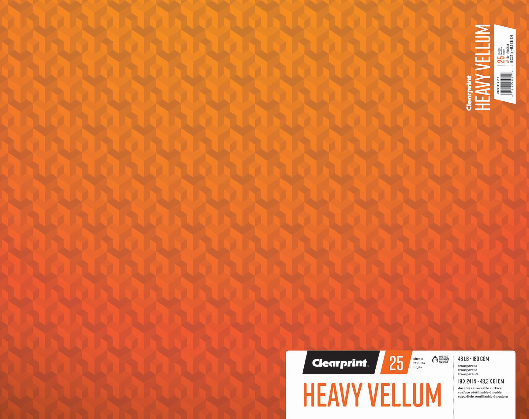 "Heavy Vellum 19""x24"""