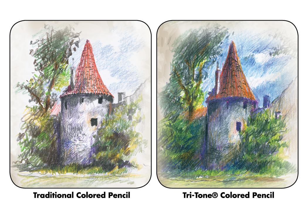 Traditional Pencil Vs. Tri-Tone