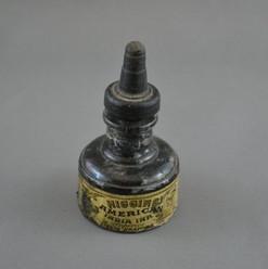 Charles Higgins Ink Bottle, Brooklyn, NY