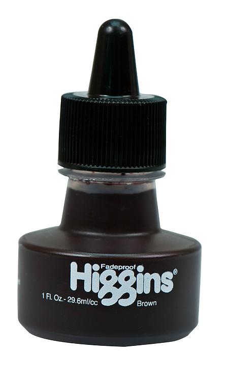 Brown Pigmented Ink