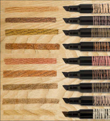 Wood Markers