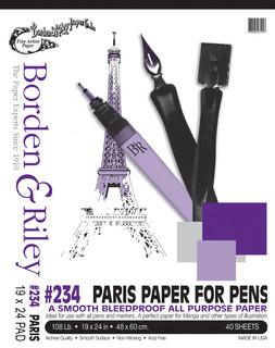19x24 #234 Paris Paper for Pens Pad