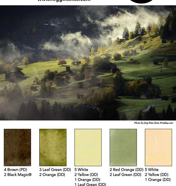 Higgins Mixing Palette 13