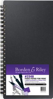 6x12 #234 Paris Paper for Pens Book