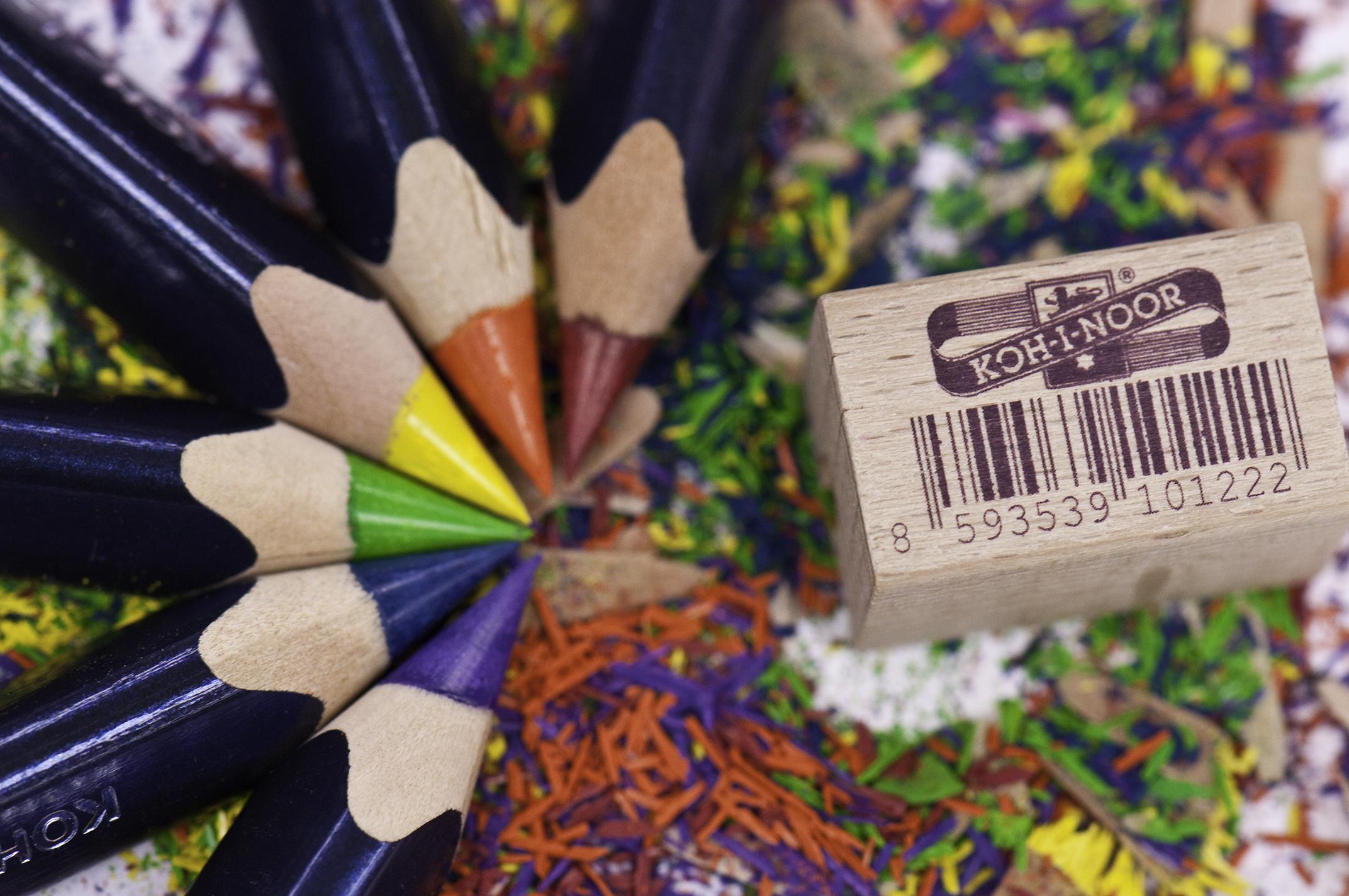 Triocolor Pencils