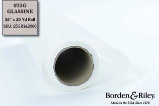 #25G Glassine Roll