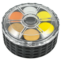 Stacked Watercolor Wheel