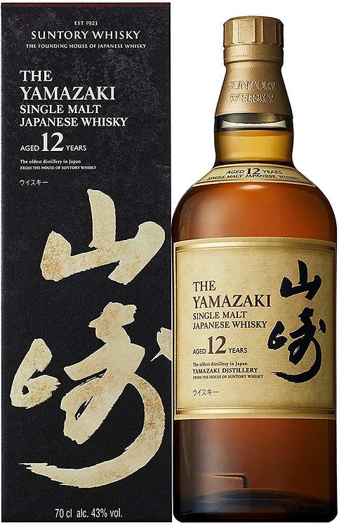 Yamazaki Whisky 12 Year Old Single Malt Japanese Whisky, 70cl (Japanese Whisky)