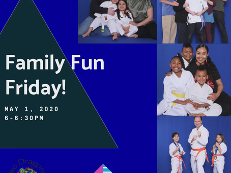Family Fun Day was Fun! Join us next month on June 12, 2020 at 6pm