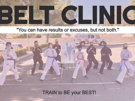 Get back on Track with BELT CLINICS!