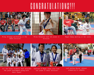 All the brave students that attended the youth tournament,along with their Sipoo!