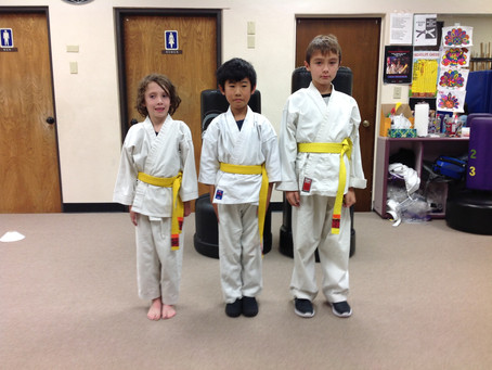 Congrats on your belt Promotions!
