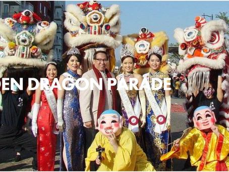 Golden Dragon Parade 2017