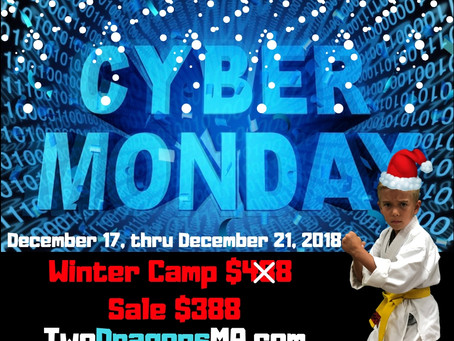 Cyber Mondy SALE ENDS 11/26/2018