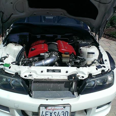 BMW Z3 with LS2 & custom turbo