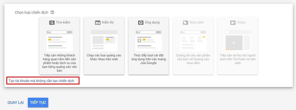 Đăng ký Google Ads - Intro 2