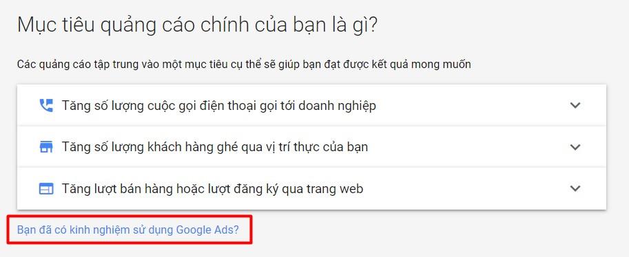 Đăng ký Google Ads - Intro