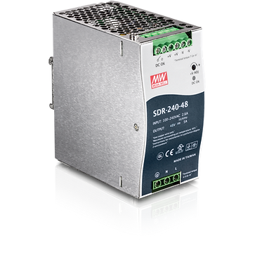 240 W Single Output Industrial DIN-Rail Power Supply