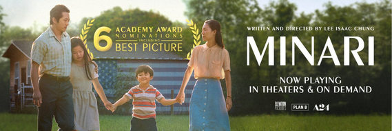 MINARI nominated for 6 Academy Awards, including Best Picture