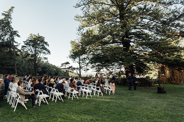 Wedding ceremony in Portugal