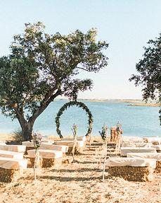 Contemporary wedding venue in Alentejo Portugal