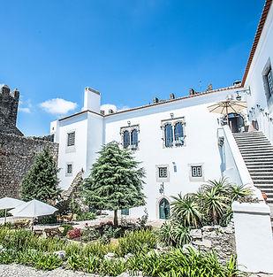 Hotel in een kasteel in Portugal