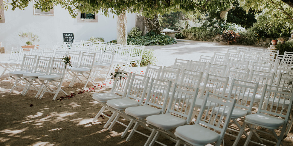 Ceremony setting venue Portugal