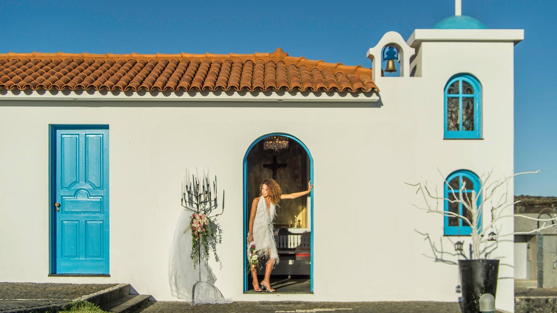 Symbolic Chapel at wedding venue in the Azores