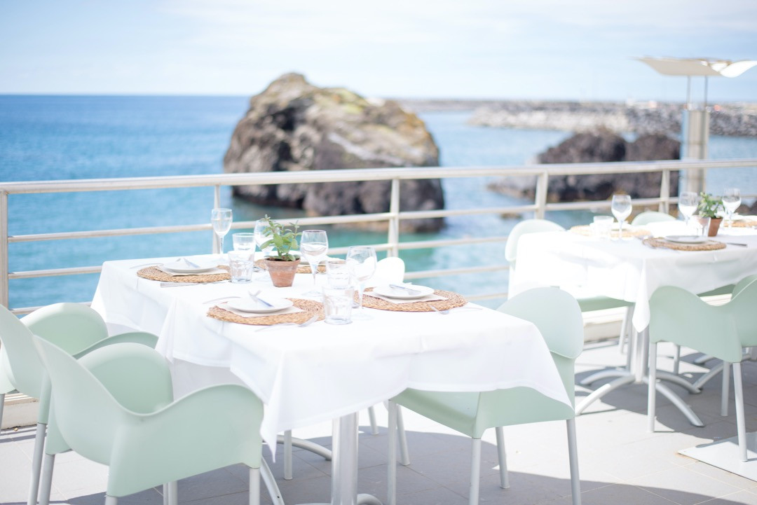 Ocean front wedding venue in the Azores, Portugal