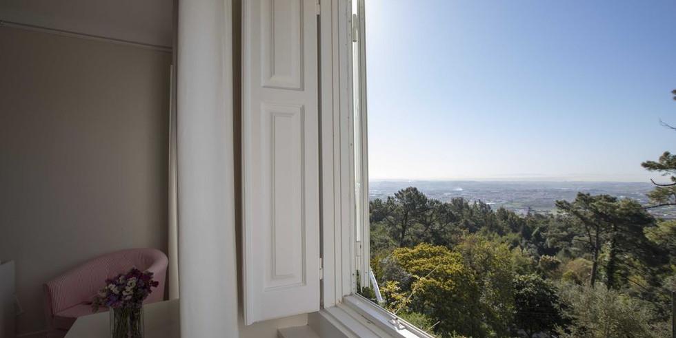 Guestroom with a view in private villa venue in Portugal