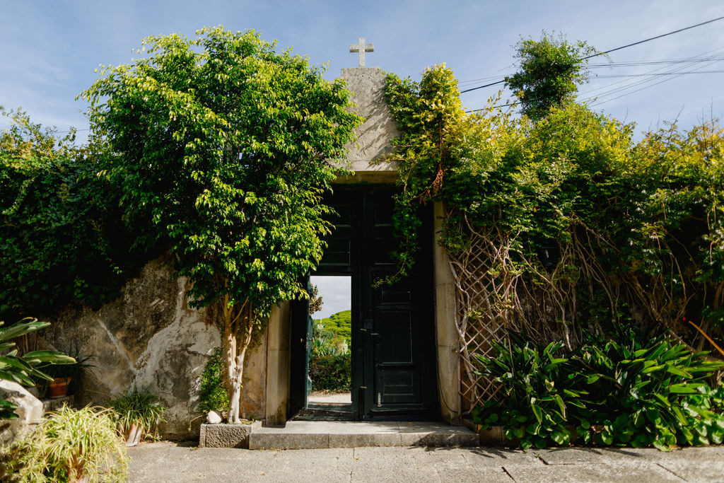 Entrance wedding venue Portugal, Sintra