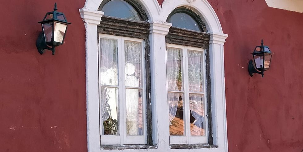 Windows of bridal suite