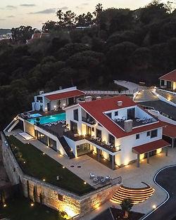 Luxe vakantieverblijf met zeezicht in Portugal