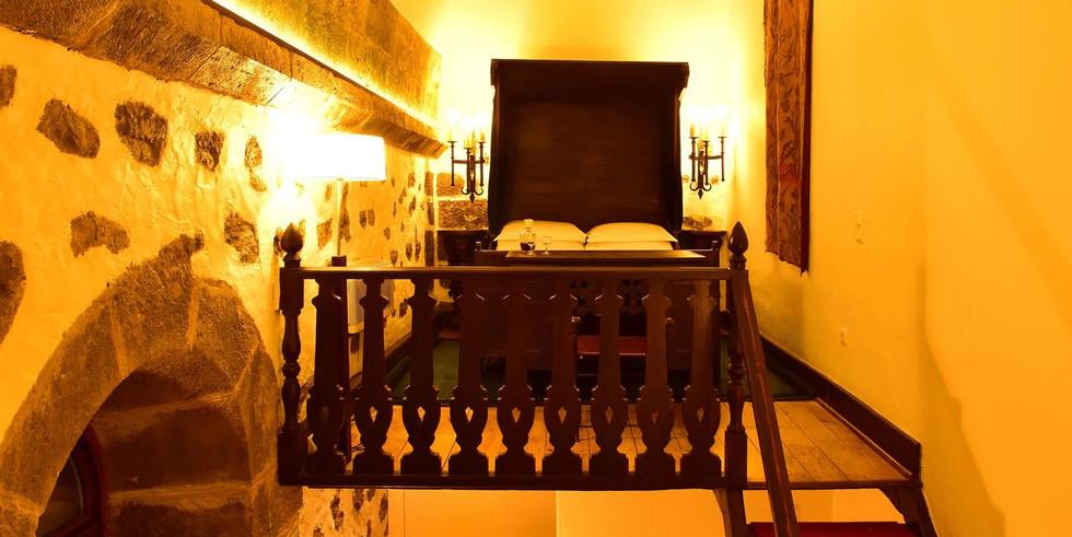 Guestroom in Portuguese castle
