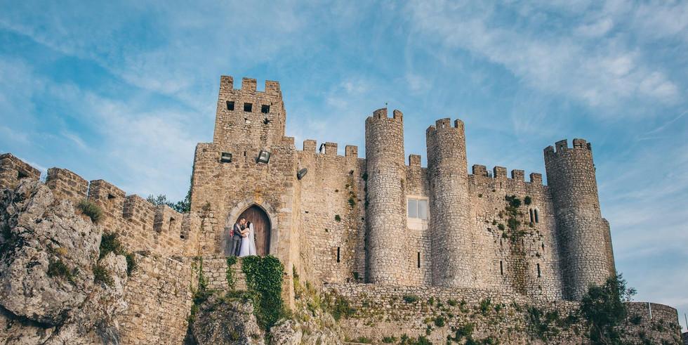 Outside walls of Portuguese castle