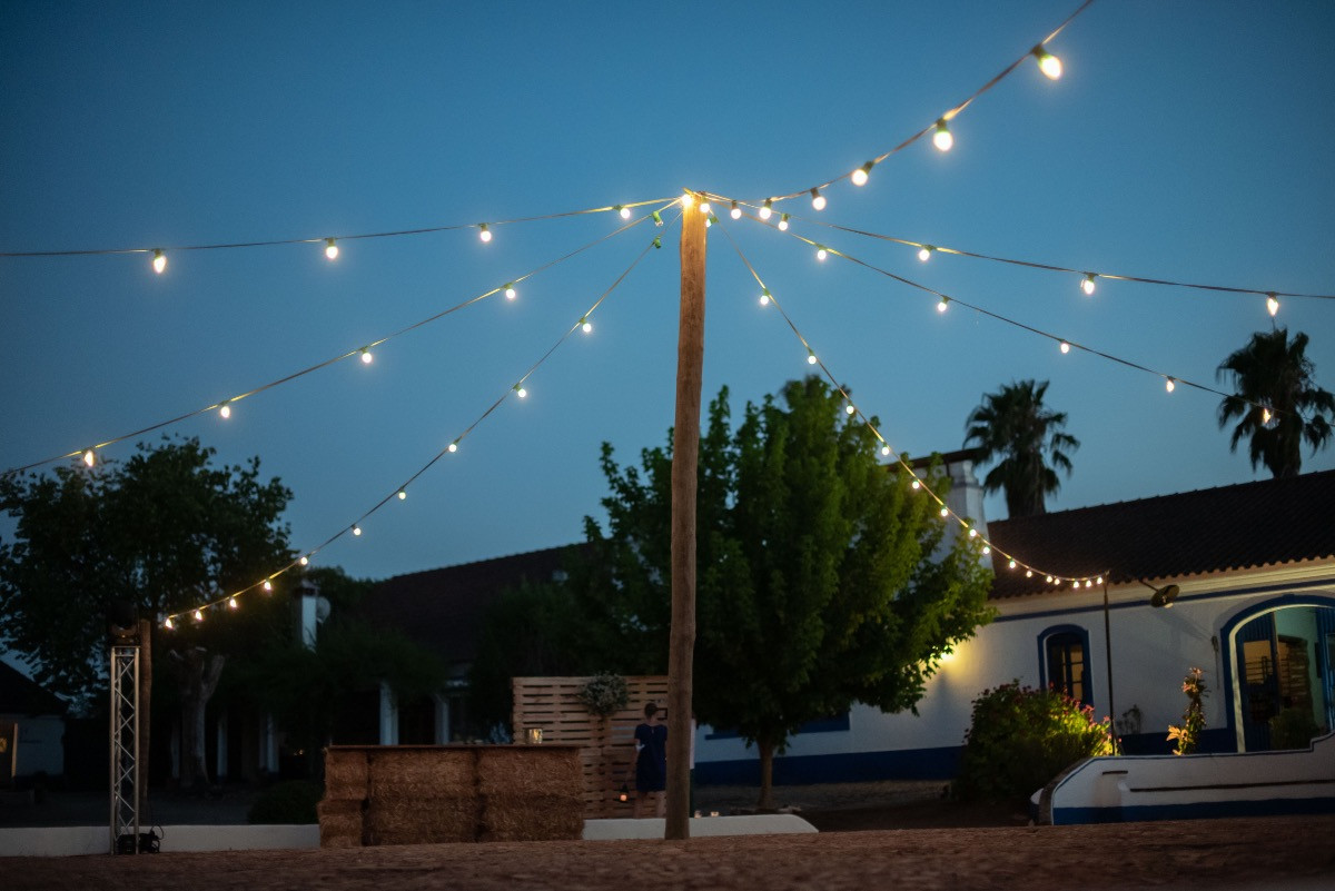 Dancefloor under the stars in Alentejo